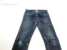 Butler Naked & Famous Elephant 19oz Dry Raw Denim fades Jeans Size 29 selvedge
