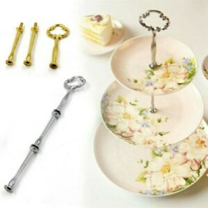 Plate stand Cupcakes Stick Handle Fitting Hardware Zinc alloy Tray Shelf