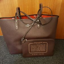 Coach Brown Shopping Tote Bag and Purse