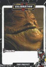 Toby Philpott Official Pix Star Wars Autograph Trading Card Celebration V Exc