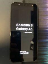 Samsung Galaxy A6 SM-A600P - 32GB - Black (Sprint) Working Clean SmartPhone
