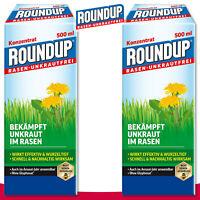 Roundup Rasen-Unkrautfrei 2 x 500 ml Konzentrat