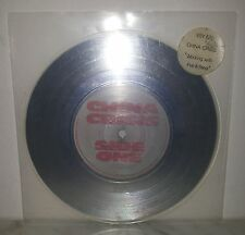 """7"""" 45 GIRI CHINA CRISIS - WORKING WITH FIRE & STEEL - SILVER"""