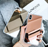 For iPhone Xs Max XR 7 8 Plus Mirror Case Aluminum Bumper Back Protective Covers