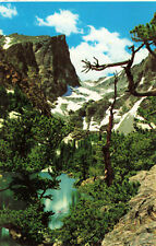 Postcard Dream Lake And Hallett Peak Rocky Mountain National Park