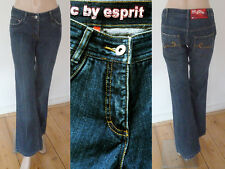 Esprit Jeans Girl 5 Pocket Style Boot Cut dark blue denim 176 1A Zustand  Cool