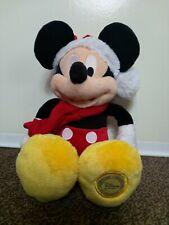 Micky Mouse Xmas Plush Disney store