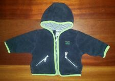 Pumpkin Patch Baby Boys Fleece Zip Up Jacket Jumper - Size 0