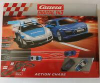 Carrera Digital 143 Autorennbahn Action Chase 40033 optional mit 3m Ausbauset