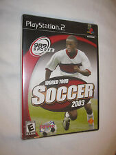 World Tour Soccer 2003 (PS2) Brand New, Sealed!