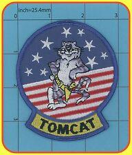 Tomcat patch F-14 Topgun movie USN Navy US Pilot Flight Costume Tom Cruise 63