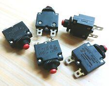 10x 5A Amp fusible fusible de sobrecarga térmica de botón de reinicio HT-01-A WP-01 CE
