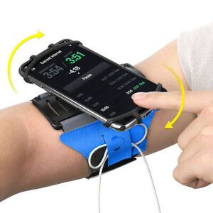 Cell Phone Sports Arm Band Holder Running Jogging Workout Gym Bike iPhone Galaxy
