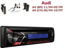 Pioneer deh-s100ubb MP3 USB AUX CD Set d'installation pour Audi A4 (B5) A6 (
