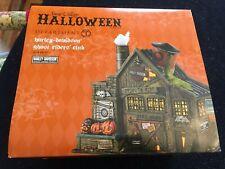 Dept 56 Original Halloween Village Harley-Davidson Ghost Riders Club #4044878
