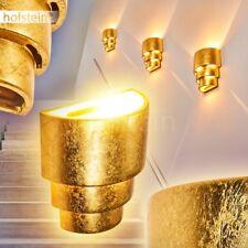 Aplique cerámica dorado salón pasillo comedor entrada dormitorio efecto arriba