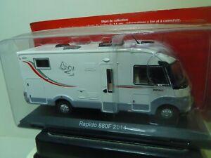 1/43 IXO CAMPING CAR RAPIDO 880F 2014