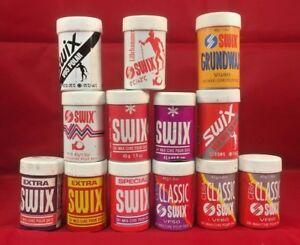 Swix Ski Wax - V, Special, Classic, Extra Series - 45g