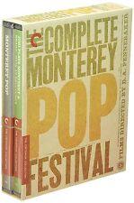 CRITERION Colección: COMPLETO MONTEREY POP FEST - BLURAY - Región A - Sellado