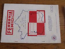 16µ?  Revue Ferrovia Midi  1972 n°53 Autorail VH