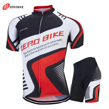 Pro Mens Bike Team Sports Wear Bike Cycling Jersey Shorts Suits Bicycle Gear Set