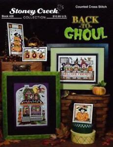 Back to Ghoul Stoney Creek BK428 Hallowen cross stitch pattern