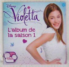 Violetta CD L'album de la saison 1 Walt Disney 2013