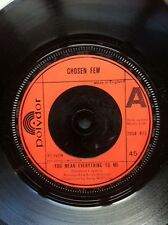 "Chosen Few - You Mean Everything To Me b/w Yes It Won't Be Long 7"" Vinyl UK"