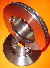 Nissan PATROL GQ Y60 TWIN PISTON CAL 1992-1997 FRONT Disc Brake Rotors NEW PAIR