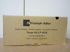 Original Triumph Adler Toner Kit LP 4024 mit Rechnung 4402410015 NEU & OVP