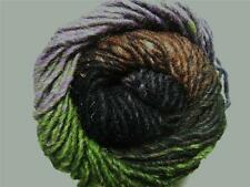 Noro Kama Purple Green Wool Silk Alpaca Mohair Angora Yarn Per Skein 29 SALE