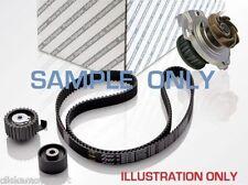 Peugeot 206 1.9 D 98-01 Timing cam belt kit tensioner idler pulley + water pump