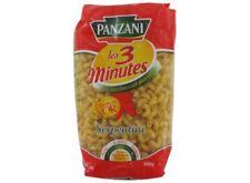 Lot 9 paquets  Serpentini 3 minutes, Panzani 9x500 g DLC LONGUE