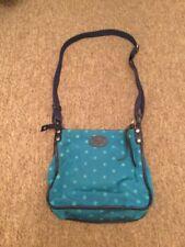 Fossil Turquoise & Blue Star Messenger Handbag Bag