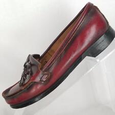 Eastland Womens Loafer Kilt Tassel Brown Slip on Slide Leather Upper Size 6.5 M