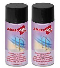 2 Antiscivolo Per Piscina Scale Rampe Doccia Pavimenti Ambro-Sol Spray ML 400
