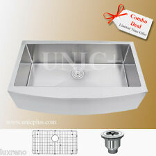 Single Kitchen Sink, Farmhouse Sink, 36 Inch Small Radius Kitchen Sink, KAR3621S