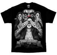 Speak No Evil Lowrider Homies Chicano Art David Gonzales DGA T Shirt