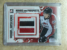 11-12 ITG Heroes Prospects Subway Super Series Emblem Black ADAM LOWRY /6