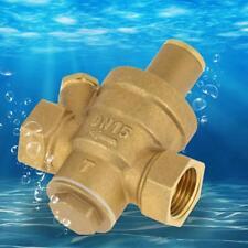Water Pressure Regulator 1/2&quot 15mm Adjustable Brass Reducing Valve