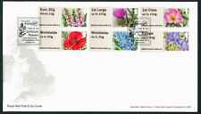 Flowers Great Britain Definitive First Day Covers (1971-Now)