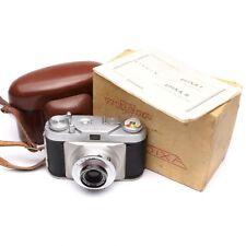 Wirgin Edixa I 35mm Rangefinder Camera with Ennagon 45mm f/2.8 Lens c.1953-57