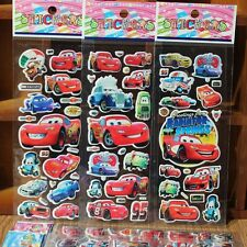 10 sheets Disney Lightning McQueen Cars stickers party favours bag fillers