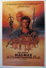 Mad Max III ,Movie poster, original 27X40, 1985,Mel Gibson & Tina Turner