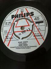 "David Bowie Space Oddity - Demo UK 'A' Promo 7"" vinyl single - mint condition"