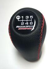 Mazda Speed Shift Knob Fits For Mazda3 6 Miata Mx5 Mx6 6 Speed Red Stitches