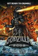 Godzilla 2000 Poster 02 A3 Box Canvas Print
