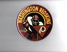 "6"" button Wincraft Washington Redskins NFL"