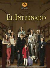EL INTERNADO,SERIE ESPAÑOLA,7 TEMPORADAS COMPLETAS(28 DVD)