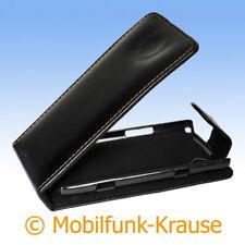 Flip Case étui pochette pour téléphone portable sac housse pour samsung wave (Noir)